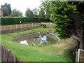 SJ7770 : Pond near St Luke's Church, Goostrey by JThomas