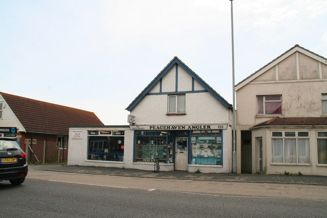Fishing shop on the South Coast Road through Peacehaven