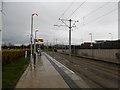 NT1772 : Gyle tram stop by Richard Webb