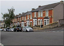 ST3288 : West side of Victoria Avenue, Newport by Jaggery