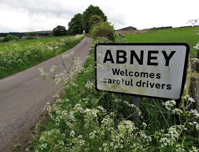 Entering Abney from the east