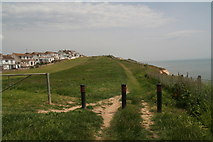 TQ4100 : Clifftop park in Peacehaven by Chris