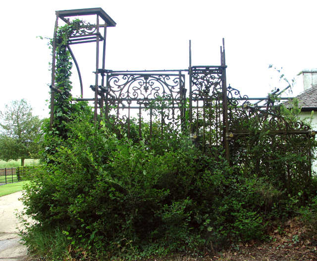 The remains of the Golden Gates