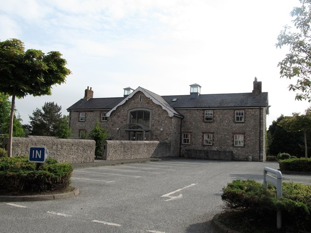 Building at the Armagh Community Hospital