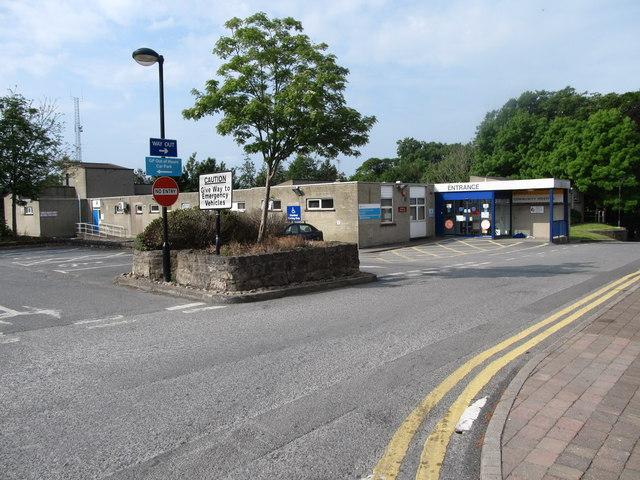 Clinic and ambulance depot at Armagh Community Hospital