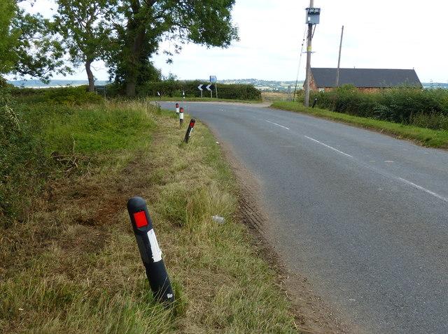 Bletchley Road near Clack Farm