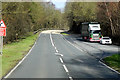 SN9765 : Layby on the A470, South of Rhayader by David Dixon