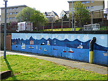 NS2875 : Belville Street mural by Thomas Nugent