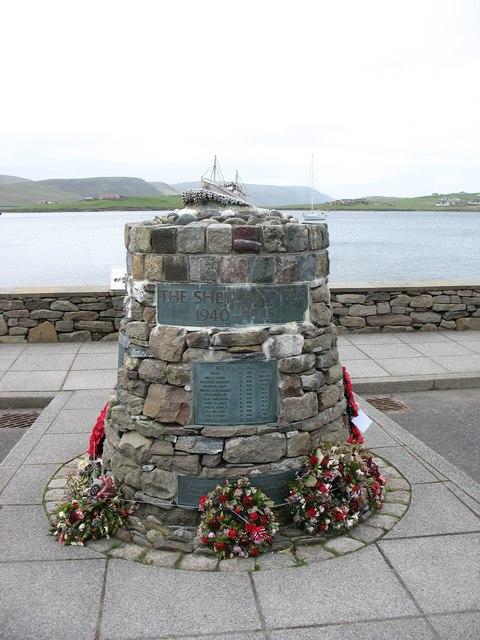 The Shetland Bus memorial