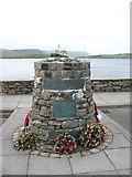 HU4039 : The Shetland Bus memorial by David Purchase