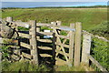 NX0671 : Kissing Gate on Coastal Footpath by Billy McCrorie