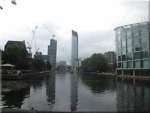 TQ3283 : City Road Basin by John Slater
