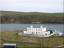 HP6114 : Muckle Flugga lighthouse shore station by David Purchase