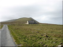 HT9637 : The church on Foula by David Purchase