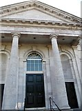 H8745 : The elongated portico pillars of Armagh Court House by Eric Jones