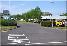 NS2875 : Greenock Ambulance Station by Thomas Nugent