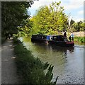 SJ9495 : Monarch on the Peak Forest Canal by Gerald England