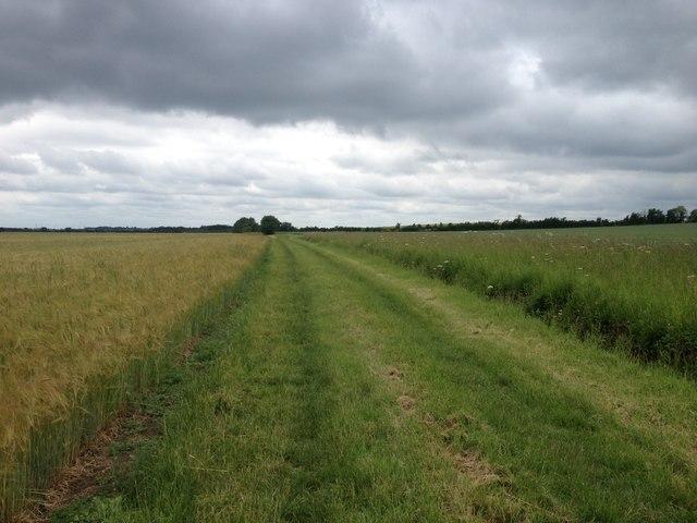 Towards Hook's Mill Farm