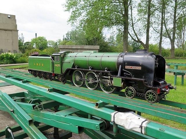 Model railway, Exhibition Park, Newcastle upon Tyne