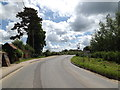 TM0848 : Entering Somersham on Ipswich Road by Adrian Cable
