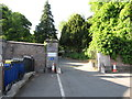 H8745 : Entrance to the Armagh Observatory Gardens by Eric Jones