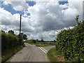 TM0747 : Flowton Road, Flowton by Adrian Cable