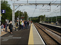 SE2436 : Waiting for the first train at Kirkstall Forge Station by Rich Tea