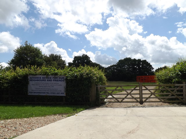Entrance to Woodlands Farm