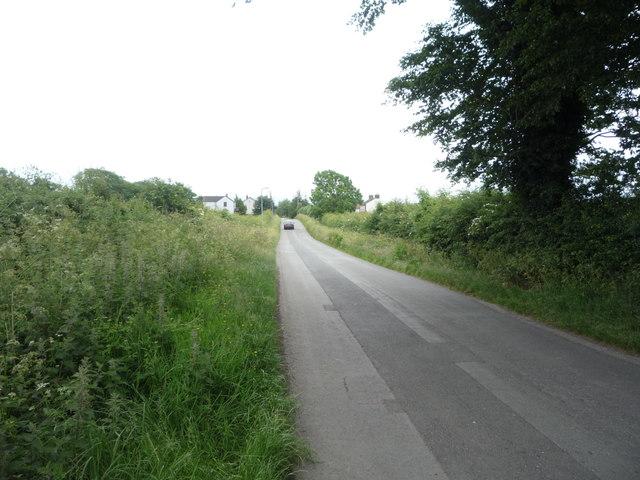 Minor road into Aikton