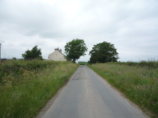 Heading north near Lanshaw House
