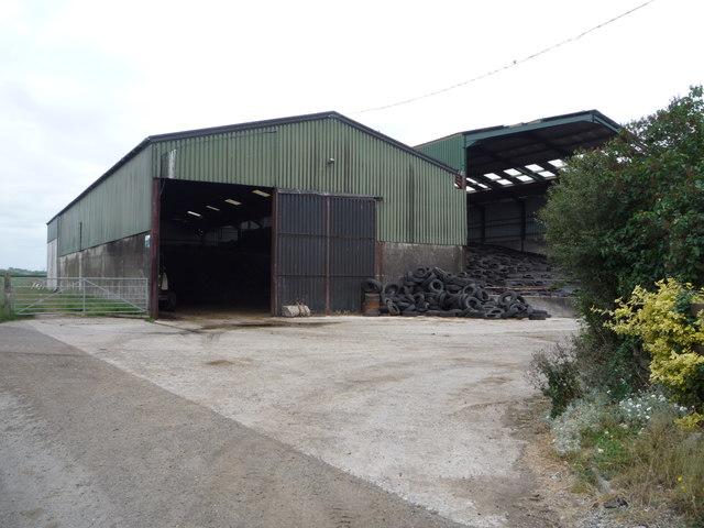 Farm buildings, New Bamton Farm
