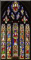 TF8209 : East window, Ss Peter & Paul church, Swaffham by Julian P Guffogg