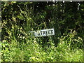 TM1147 : The Street sign by Adrian Cable
