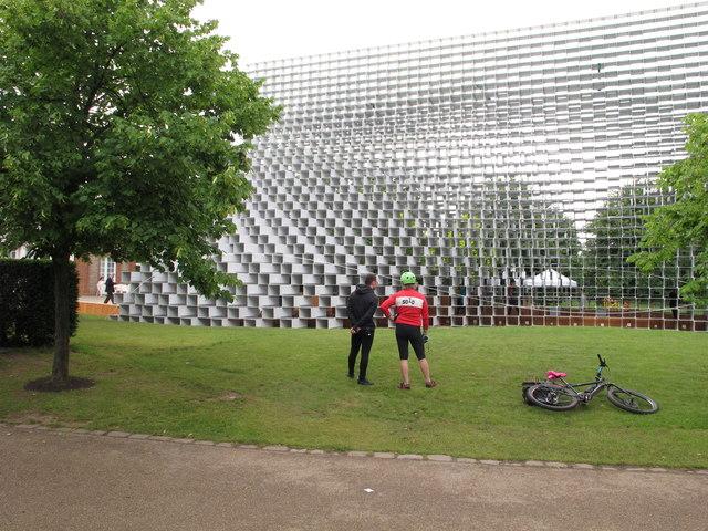 Serpentine Pavilion 2016, side view