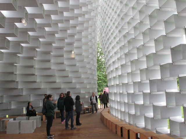 Serpentine Pavilion 2016, inside view