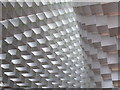 TQ2679 : Serpentine Pavilion 2016, view up inside by David Hawgood