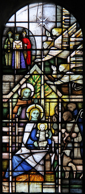 St Peter, Dunstable Priory - Stained glass window