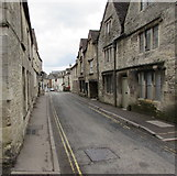 SO8700 : No parking in narrow West End, Minchinhampton by Jaggery