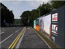 SE2436 : The new road into Kirkstall Forge by Rich Tea