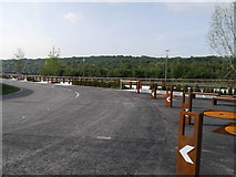 SE2436 : A corner of the new road into Kirkstall Forge by Rich Tea