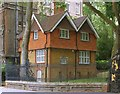 TQ2983 : Lodge, St Pancras Gardens by Julian Osley