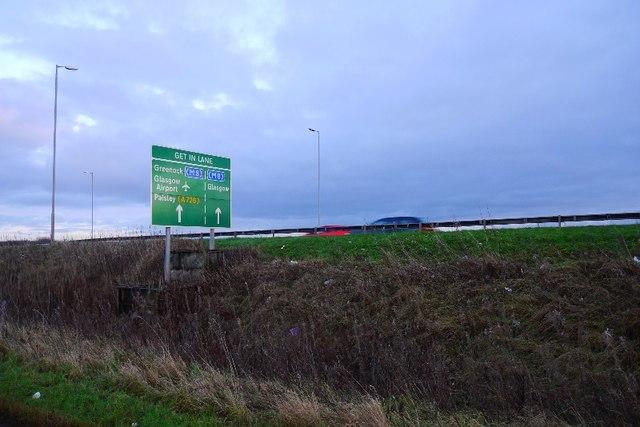 A737 sign