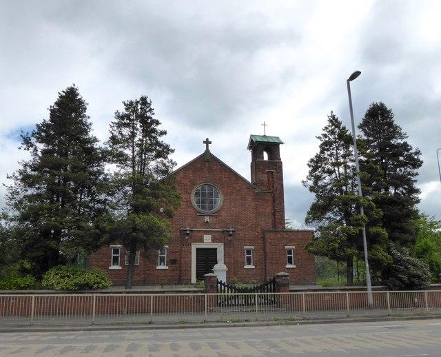 Trent Vale: Catholic church of St Teresa of the Child Jesus