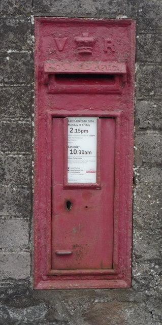 Victorian postbox, Little Bampton