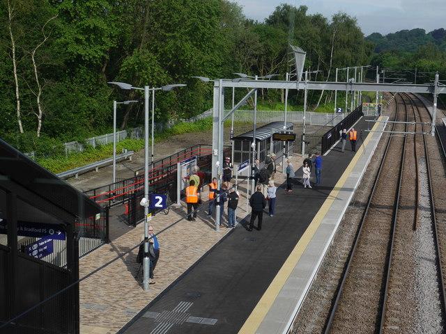 Platform 2, Kirkstall Forge Station