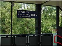 SE2436 : On the footbridge, Kirkstall Forge Station by Rich Tea