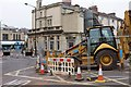 ST5874 : Roadworks on Zetland Road by Derek Harper