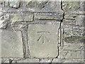 SE0942 : Ordnance Survey Cut Mark by Peter Wood