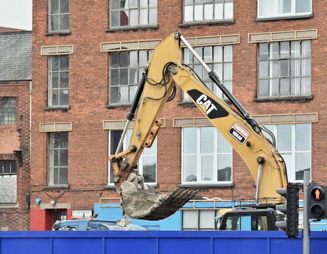 Student accommodation, 78 College Avenue, Belfast (June 2016)