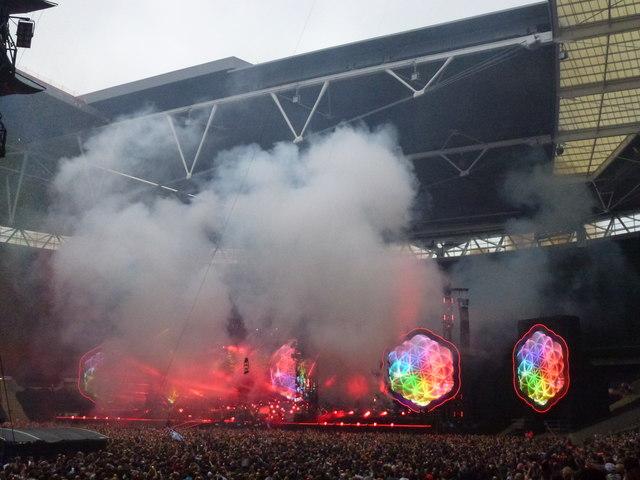 Coldplay - A Head Full of Dreams Tour - Wembley Stadium - 2